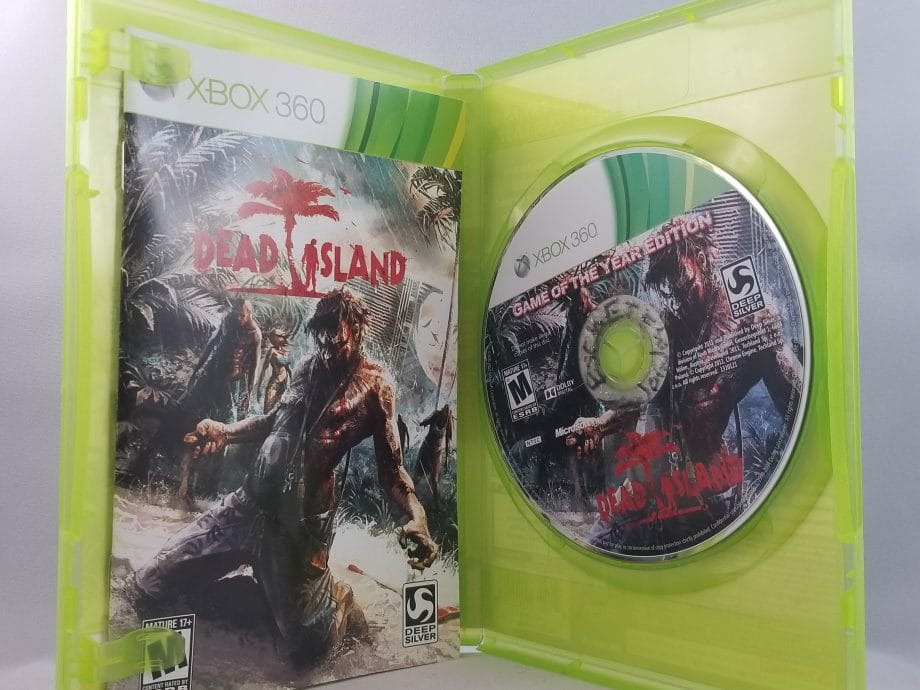Dead Island Game Of The Year Edition Disc