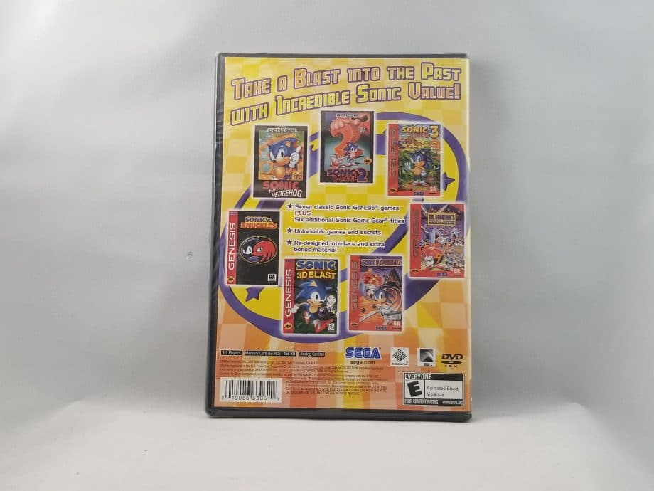 Sonic Mega Collection Plus Back