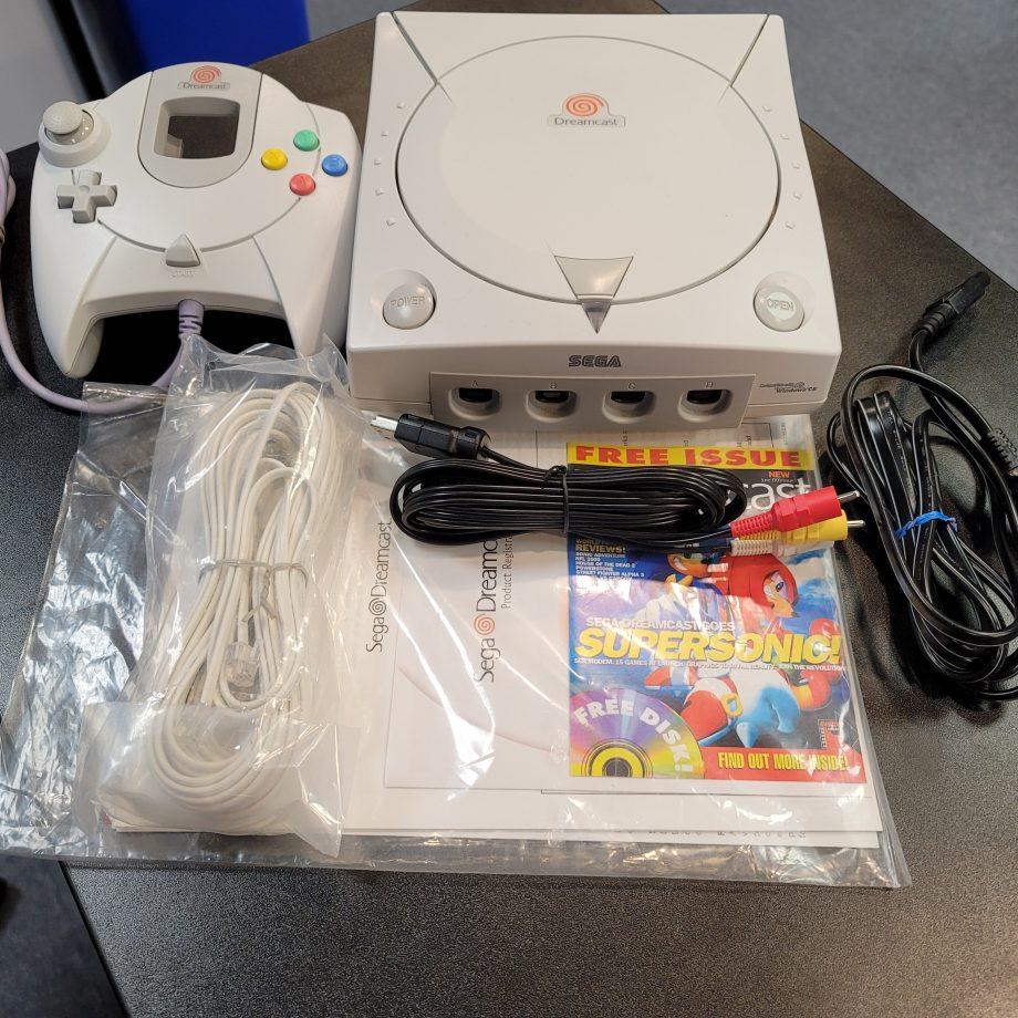 Sega Dreamcast System in Box