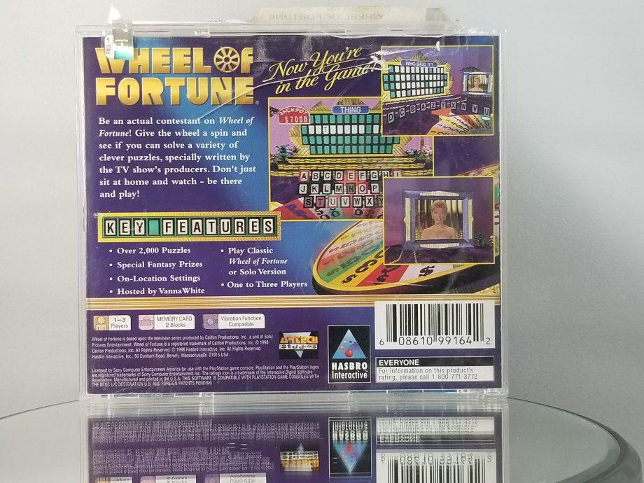 Wheel Of Fortune Back