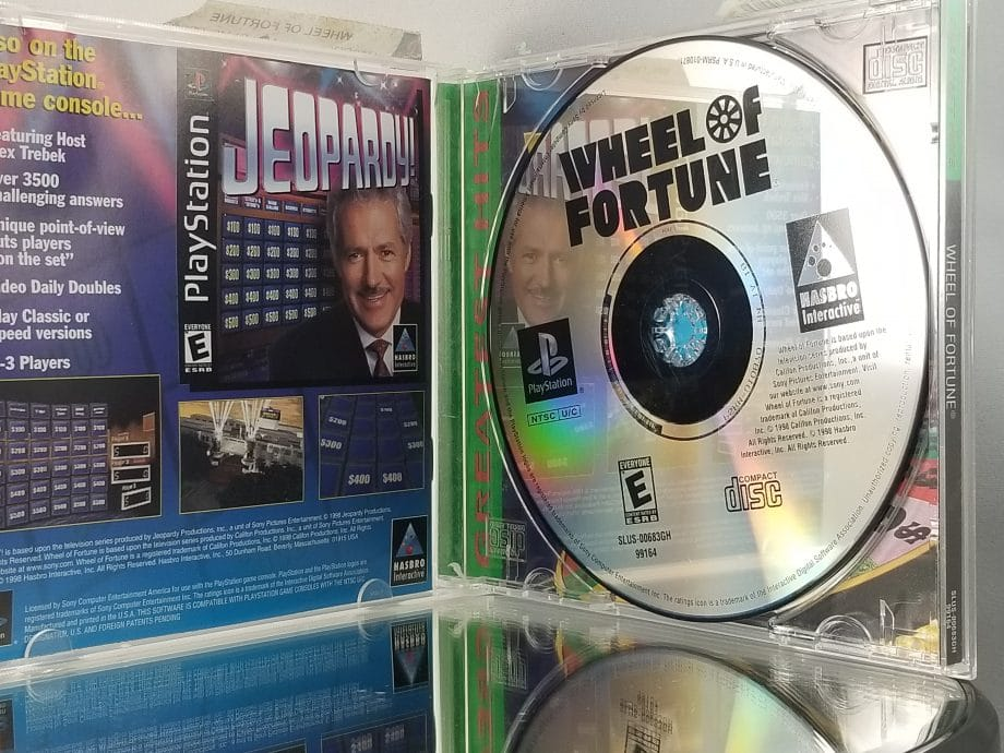 Wheel Of Fortune Disc