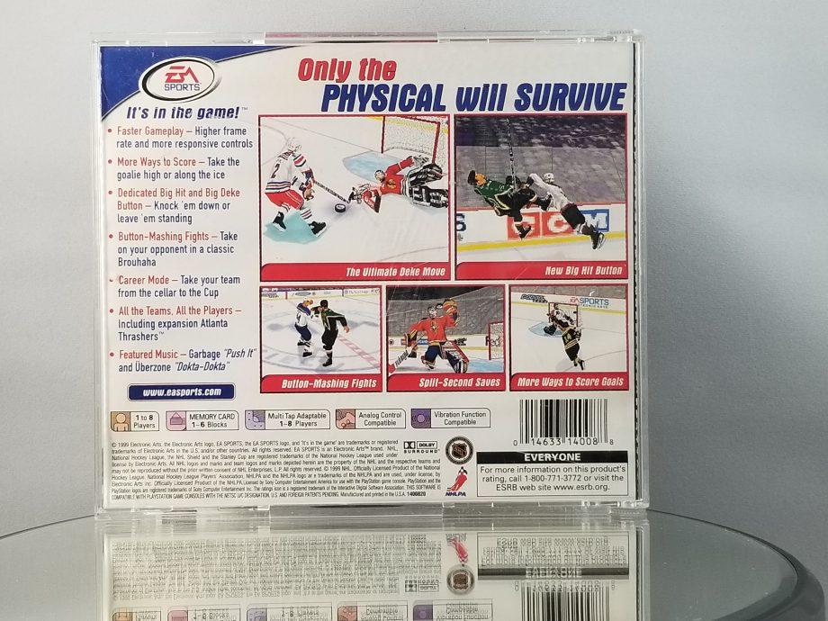 NHL 2000 Back