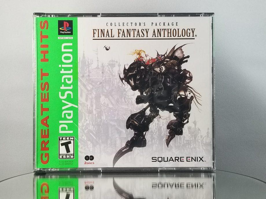 Final Fantasy Anthology Front
