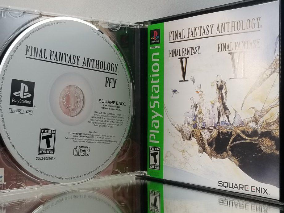 Final Fantasy Anthology Disc 1