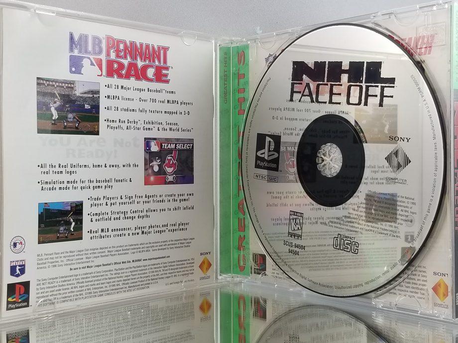 NHL FaceOff Disc