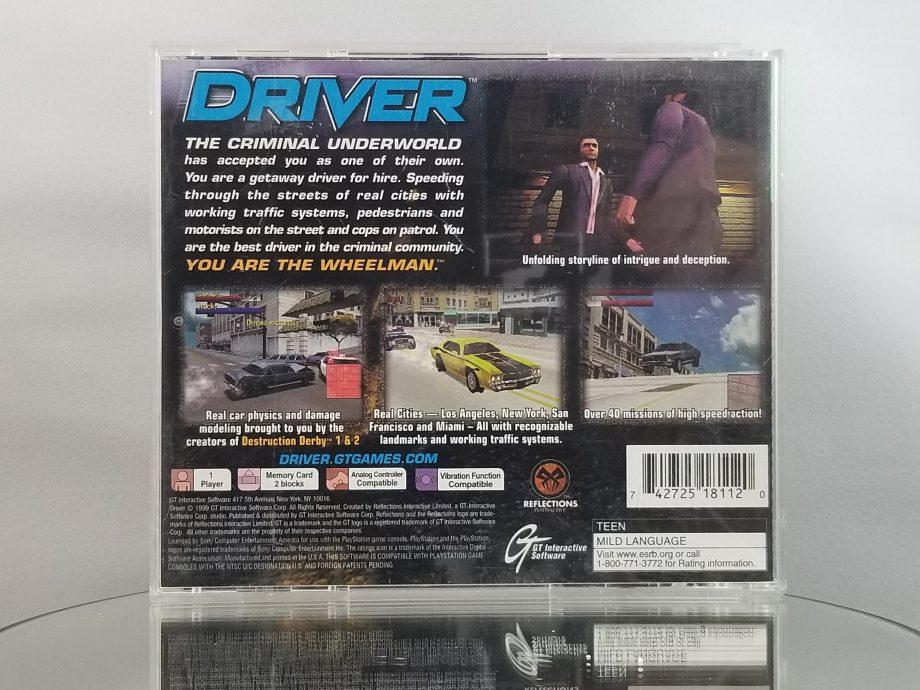 Driver Back