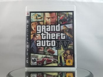 Grand Theft Auto IV Front