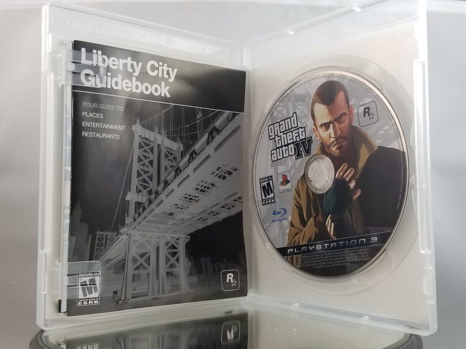 Grand Theft Auto IV Disc