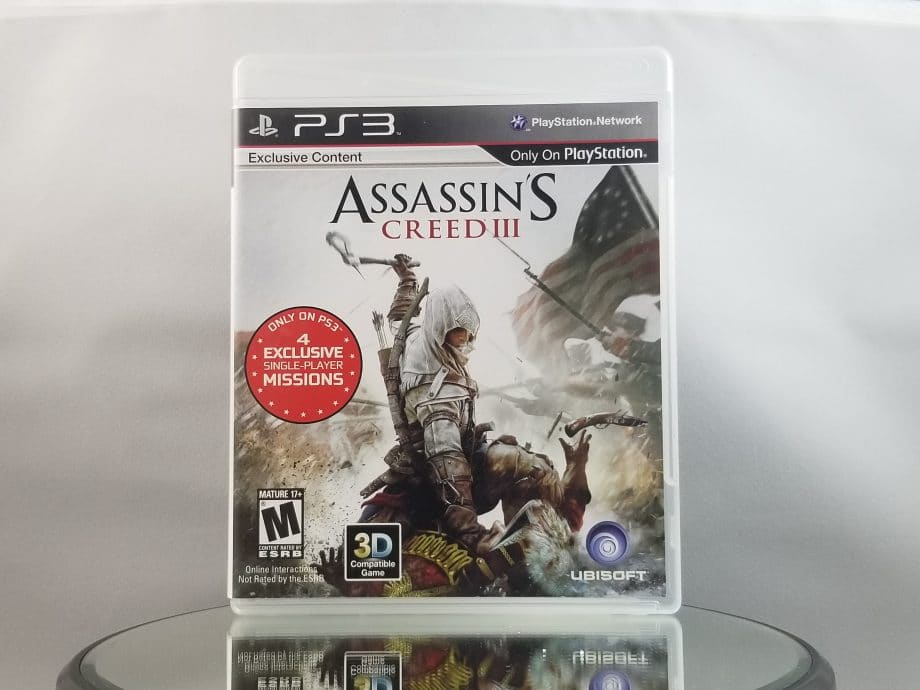 Assassin's Creed III Front