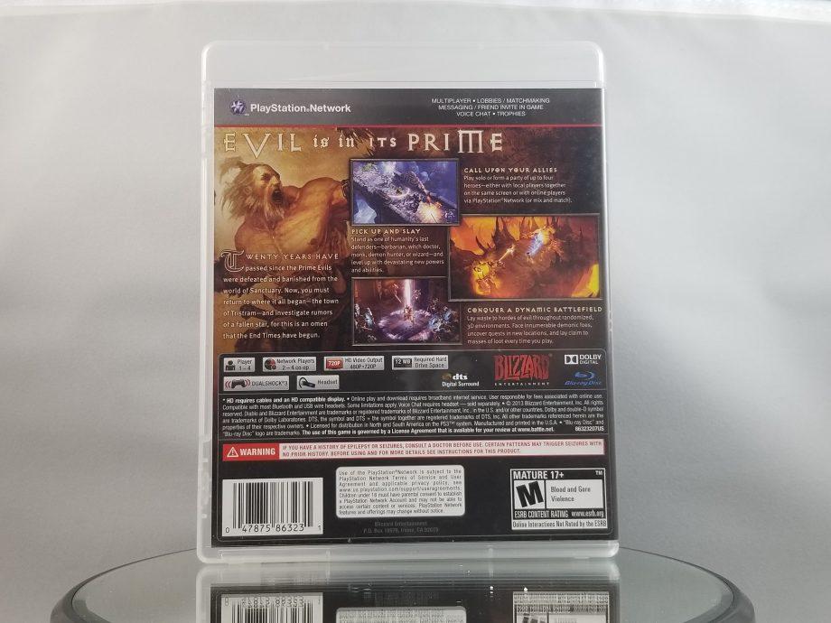 Diablo III Back