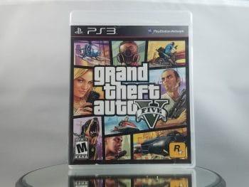 Grand Theft Auto V Front