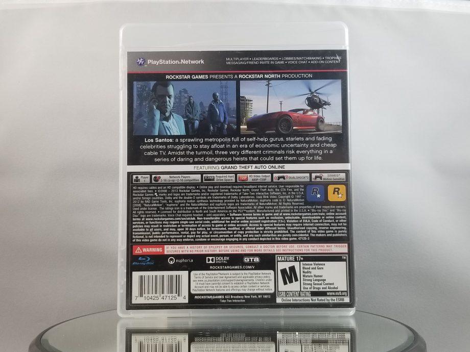 Grand Theft Auto V Back