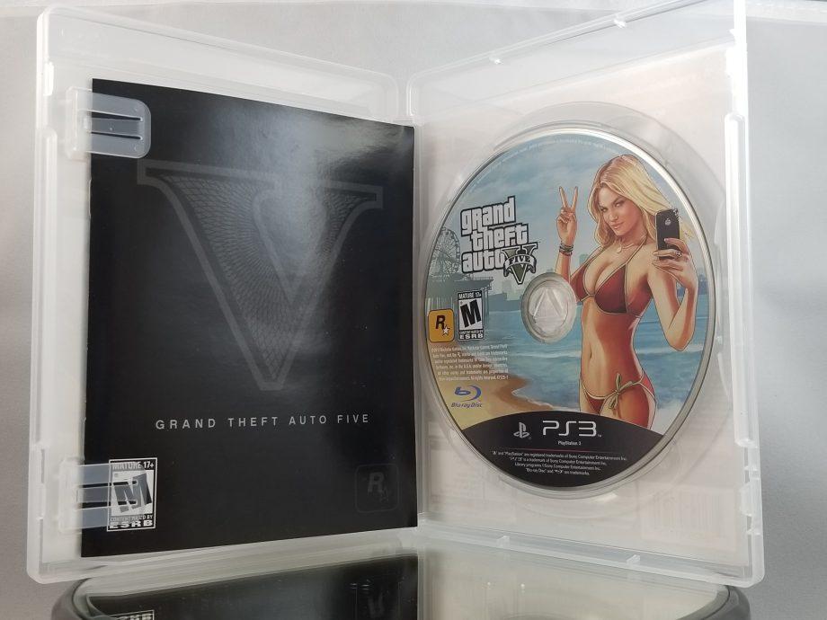 Grand Theft Auto V Disc