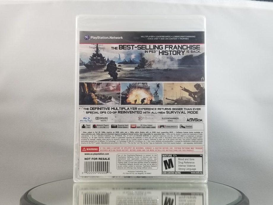 Call Of Duty Modern Warfare 3 Sealed Back