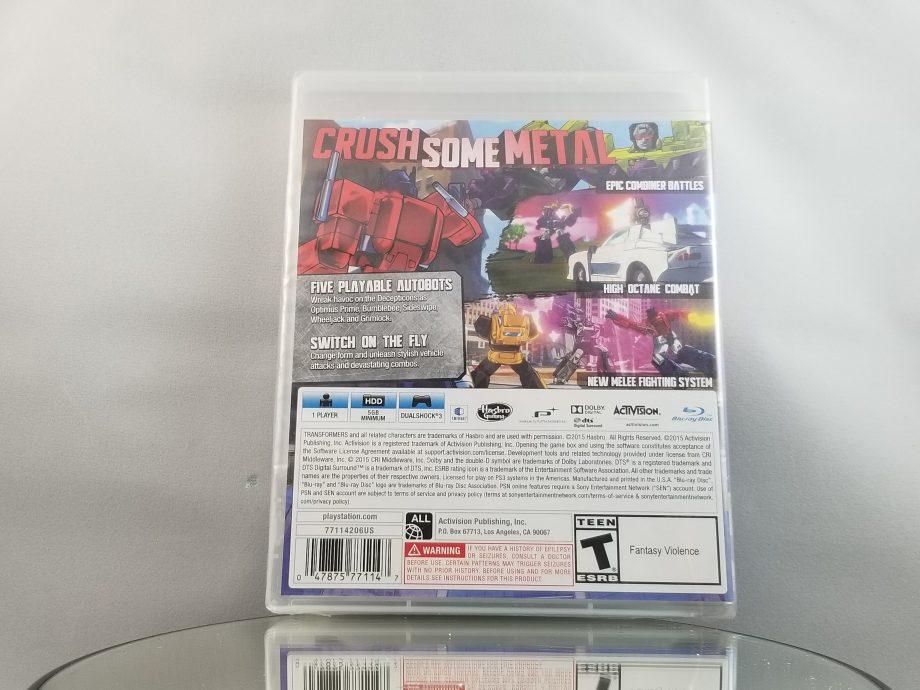 Transformers Devastation Sealed Back