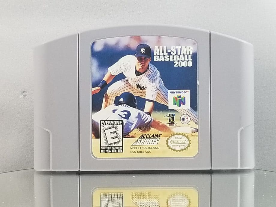 All-Star Baseball 2000 Front