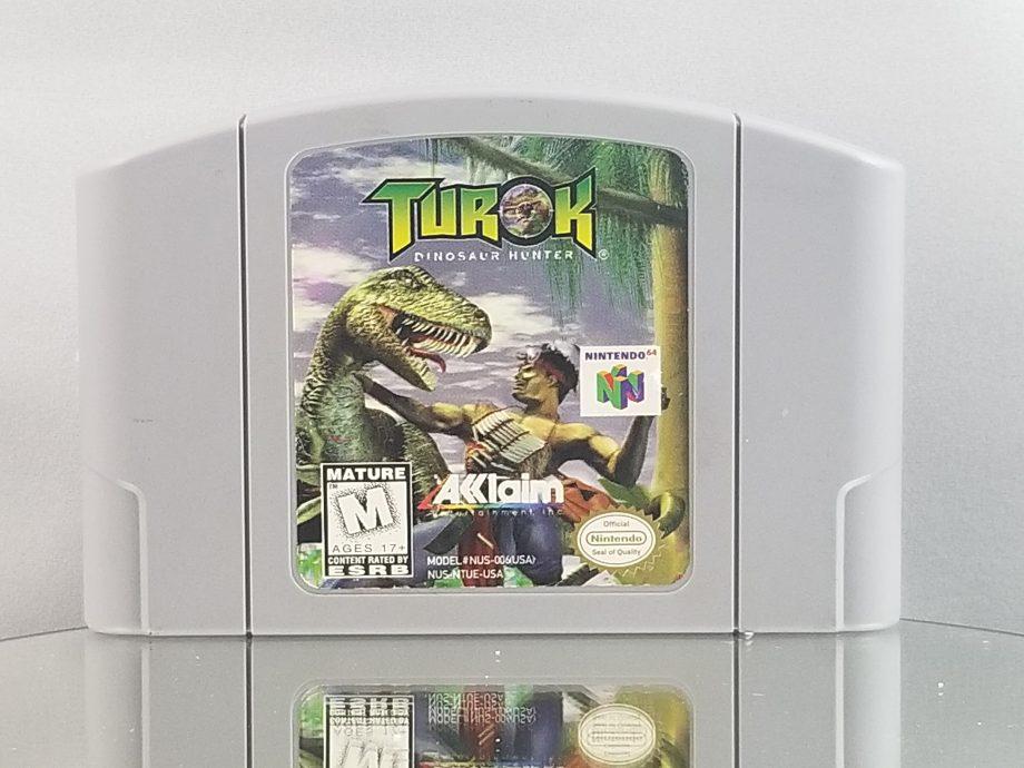 Turok Dinosaur Hunter Front