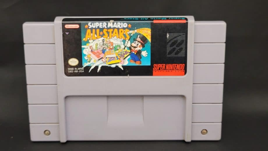Super Nintendo Super Mario All Stars