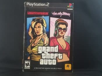 Grand Theft Auto Stories Double Pack Liberty City Stories & Vice City Stories Front