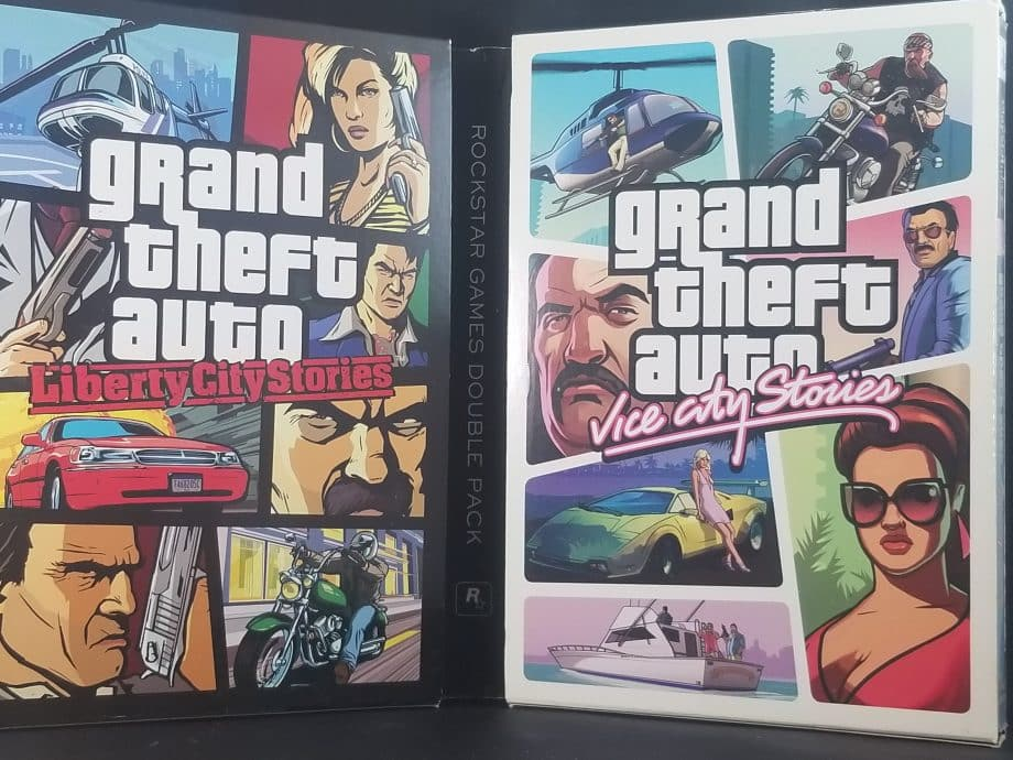 Grand Theft Auto Stories Double Pack Liberty City Stories & Vice City Stories Pose 1