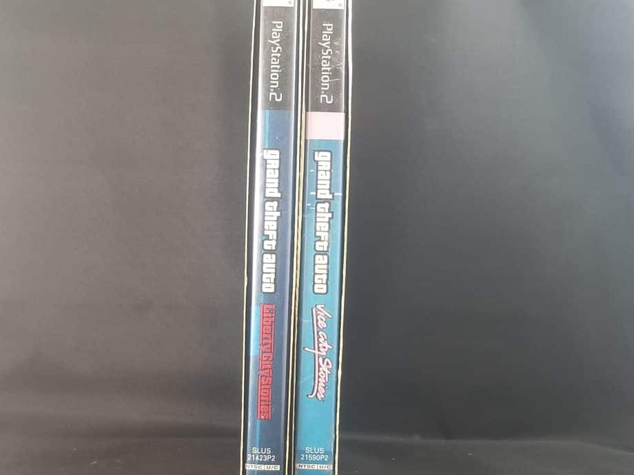 Grand Theft Auto Stories Double Pack Liberty City Stories & Vice City Stories Side