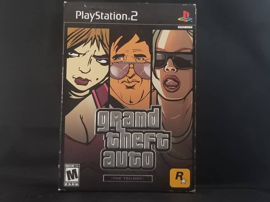 Grand Theft Auto Trilogy Front