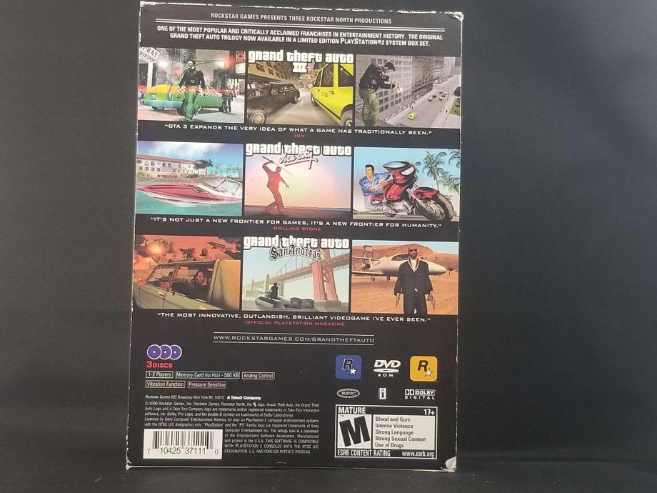 Grand Theft Auto Trilogy Back