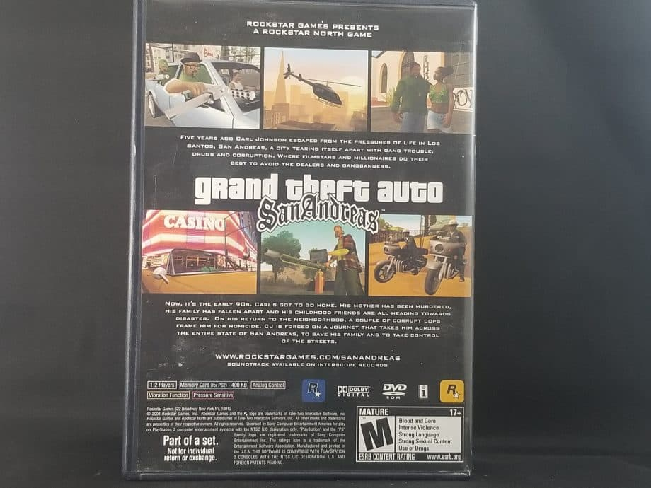 Grand Theft Auto Trilogy Pose 2