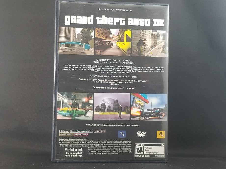 Grand Theft Auto Trilogy Pose 8