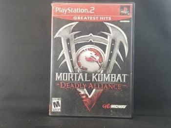 Mortal Kombat Deadly Alliance Front