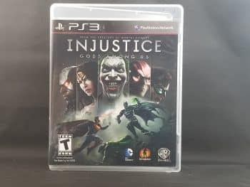 Injustice Gods Among Us Front