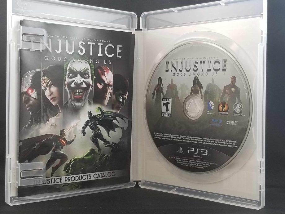 Injustice Gods Among Us Disc