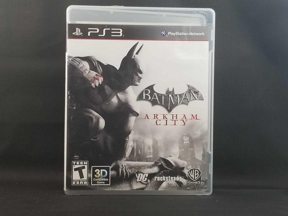 Batman Arkham City Front