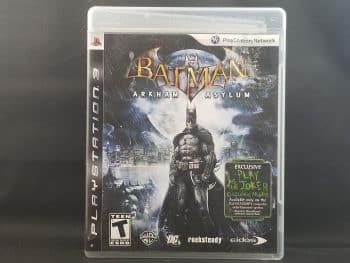 Batman Arkham Asylum Front