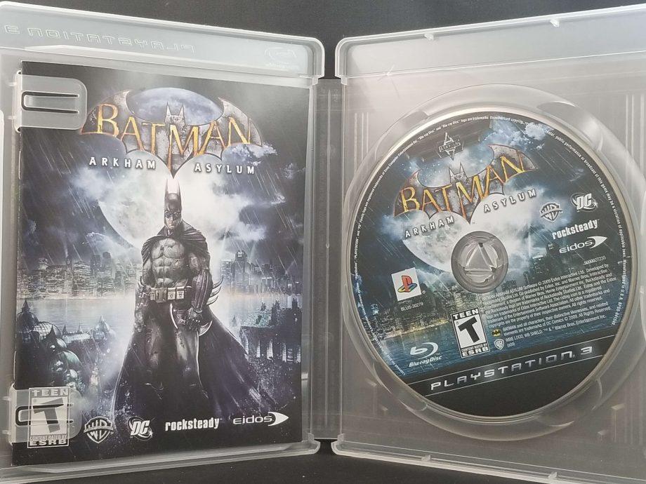 Batman Arkham Asylum Disc