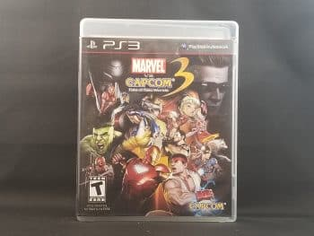 Marvel Vs. Capcom 3 Fate Of Two Worlds Front