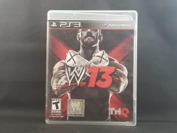 WWE '13 Front