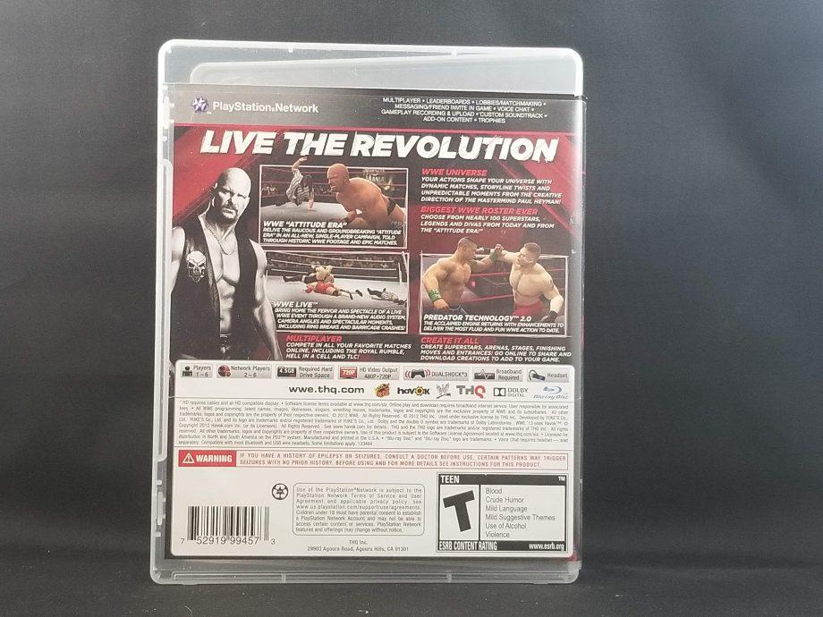 WWE '13 Back