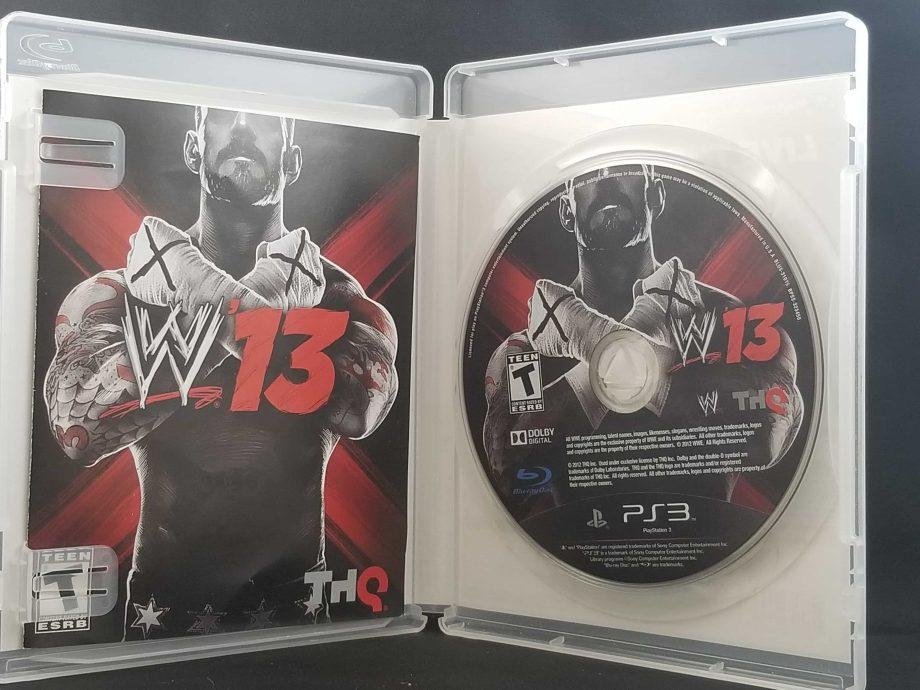 WWE '13 Disc