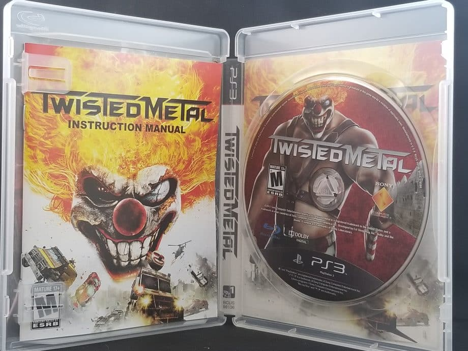 Twisted Metal Disc