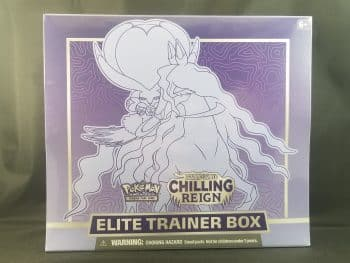 Pokemon TCG Sword And Shield Chilling Reign Elite Trainer Box Pose 1