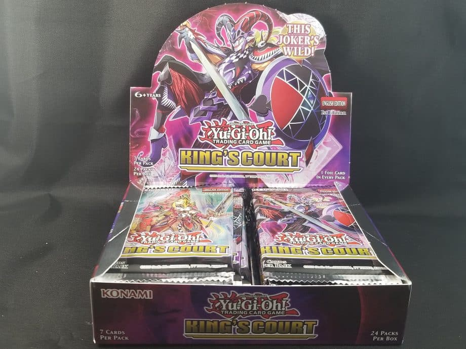 Yu-Gi-Oh! CCG King's Court Booster Pack