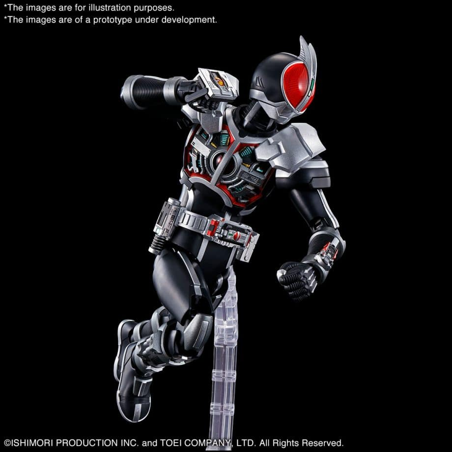 Faiz Axel Form Figure-Rise Standard Pose 3