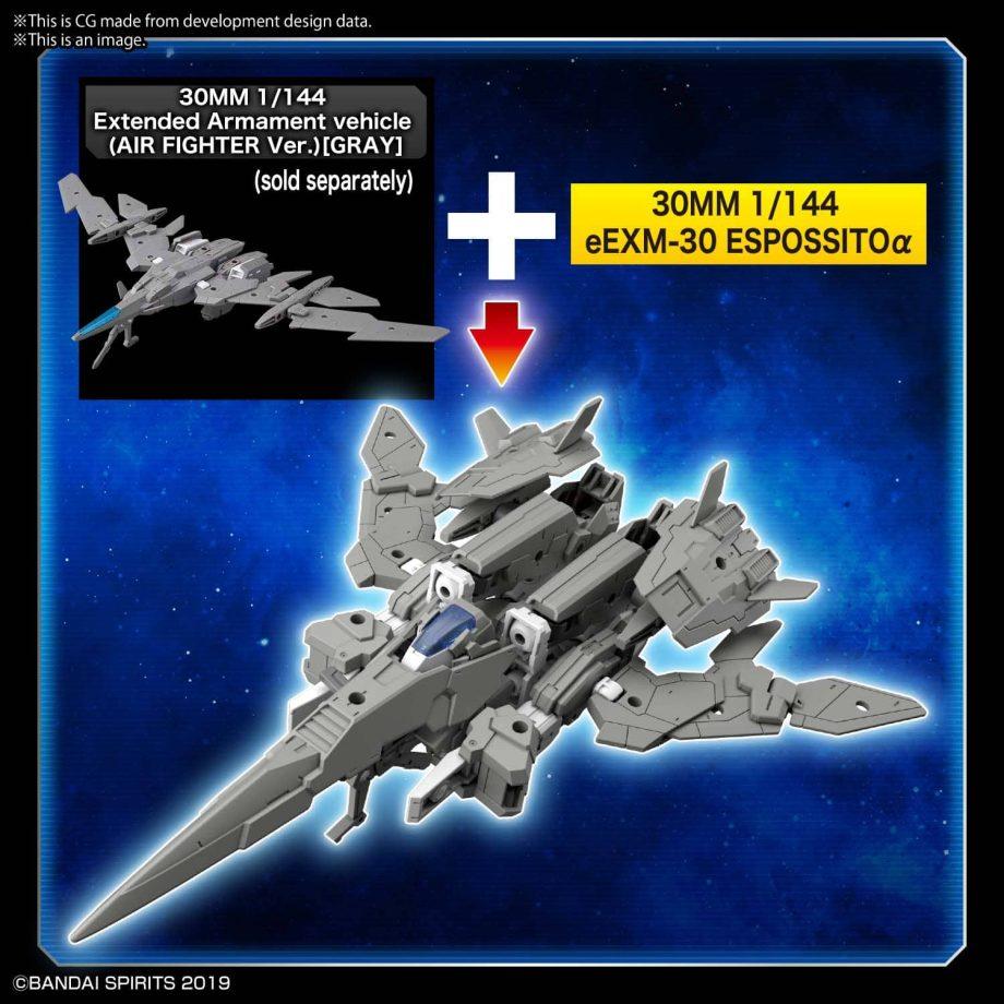 eEXM-30 Espossito Alpha Pose 6