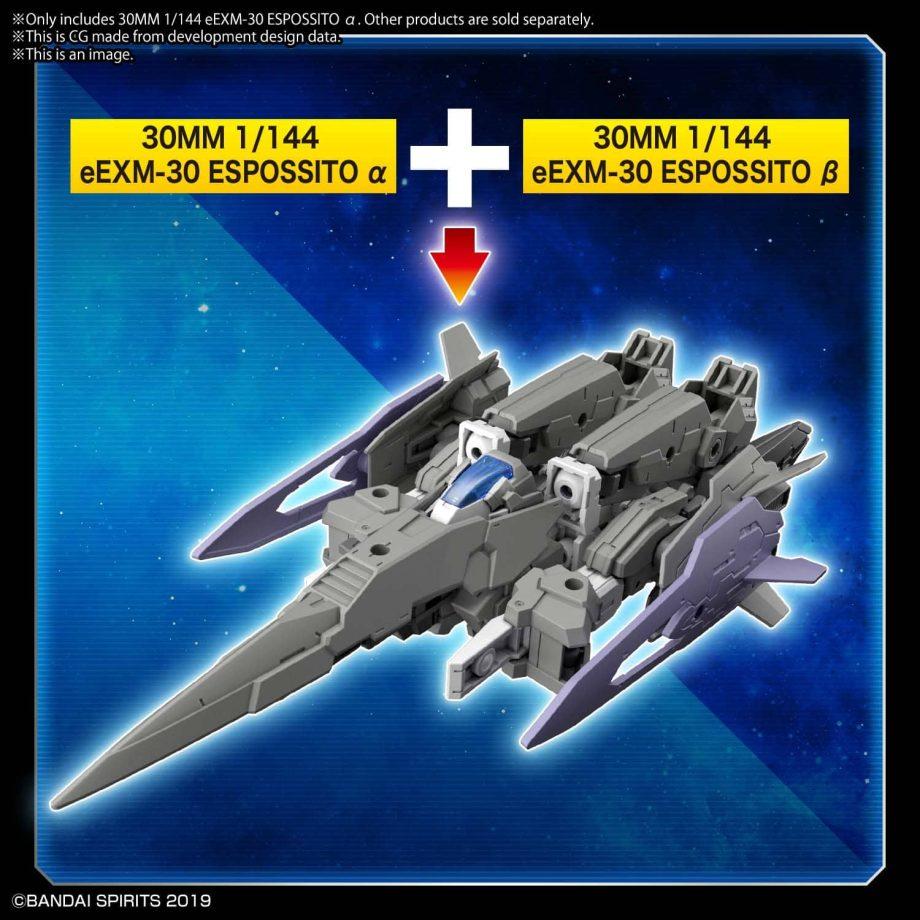 eEXM-30 Espossito Alpha Pose 7