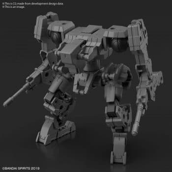 Extended Armament Vehicle Mass Produced Sub Machine Ver Pose 1
