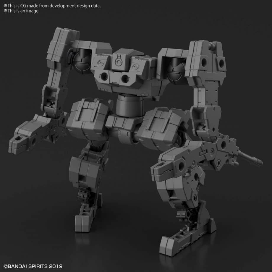 Extended Armament Vehicle Mass Produced Sub Machine Ver Pose 3