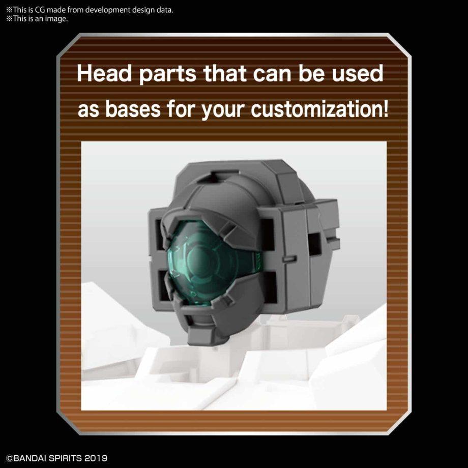 Option Parts Set 6 Customize Heads A Pose 2