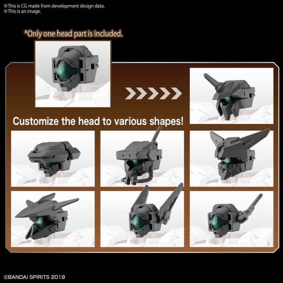 Option Parts Set 6 Customize Heads A Pose 3