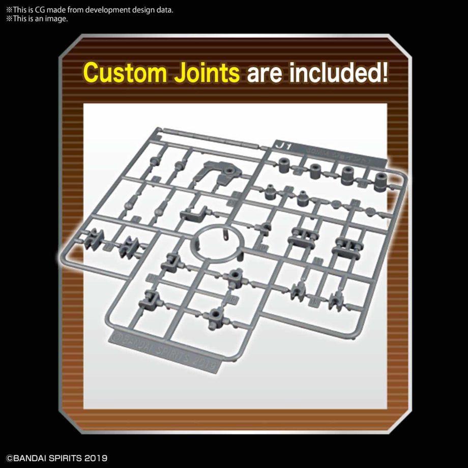 Option Parts Set 6 Customize Heads A Pose 4